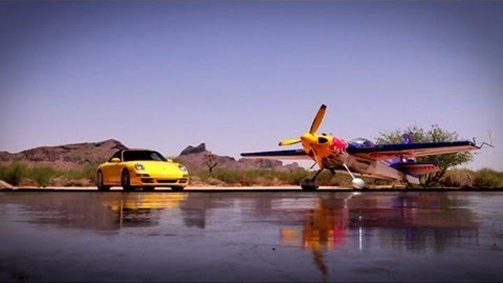 Porsche vs. Air Race Plane - Kirby Chambliss 2011
