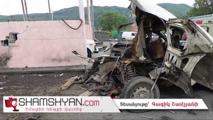 Ողբերգական պատահար՝ Գառնի գյուղում. գազալցակայանում Нива-ն պայթել է. 24-ամյա լիցքավորողը մահացել է