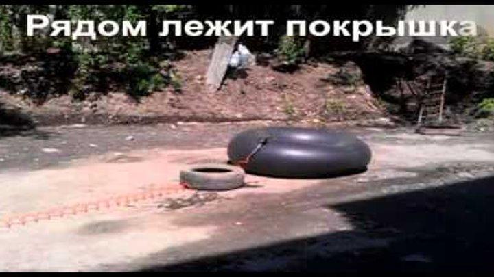 мощный взрыв 13 советской камеры Жесть