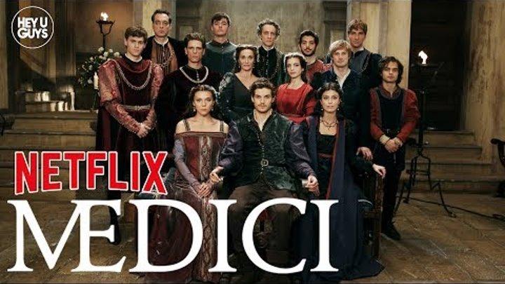 Medici Season 2 Press Conference - Alessandra Mastronardi, Synnøve Karlsen & Bradley James