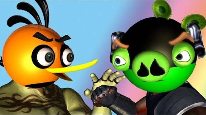 ANGRY BIRDS as Guardians of the Galaxy ♫ 3D animated mashup ☺ FunVideoTV - Style ;-))