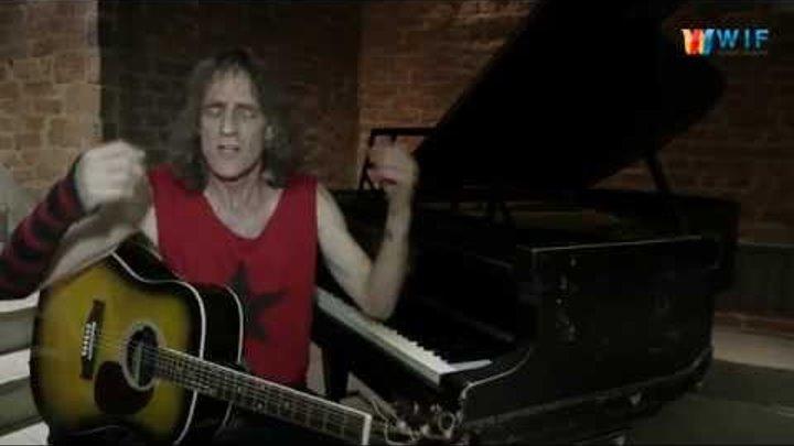 Легендарный американский музыкант Alex Carlin ученикам гимназии 1409