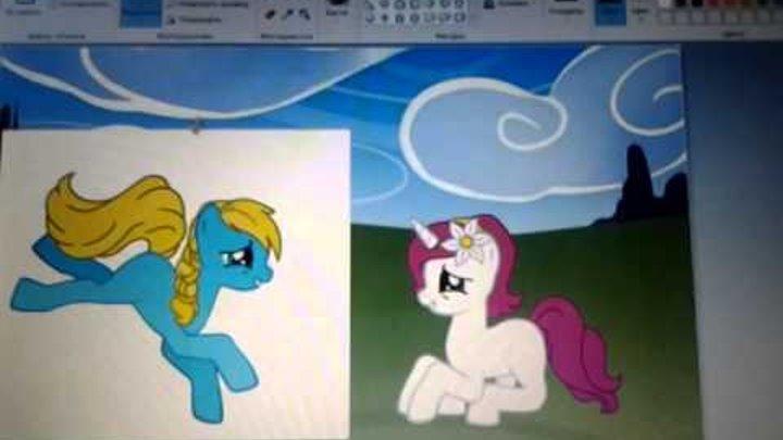 Как сделать для пони в пони creator 3 (2 способ )