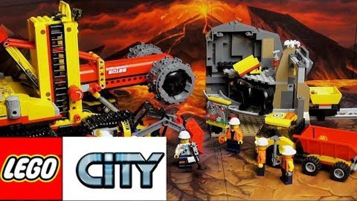 LEGO City Шахта 60188 Обзор Лего Сити