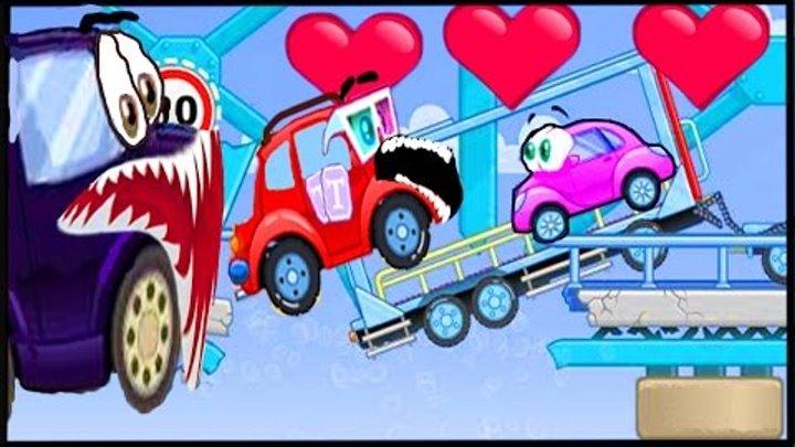 Вилли Wheely Мультик мультфильм игра для детей малышей про красную машинку часть 2