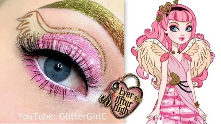 Ever After High - C.A Cupid Makeup Tutorial