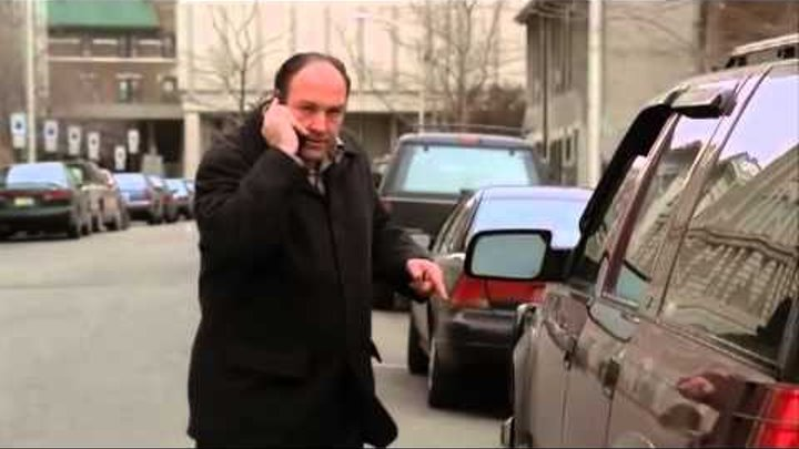 "The Sopranos \ Клан Сопрано - s3e11 ( fragment ""Pine Barrens"") [Goblin]"