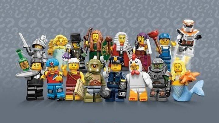 Обзор минифигурок Lego (9 серия)