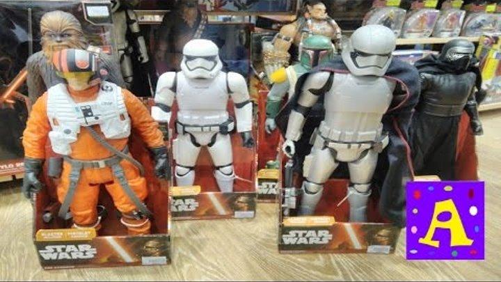 ЗВЁЗДНЫЕ ВОЙНЫ Магазин игрушек STAR WARS toy Store