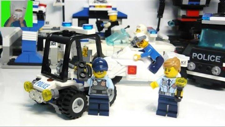 ✈ #LEGO Распаковка Джип Полиция | #лего сити полиция | Lego city | Ваня Супер Гонщик