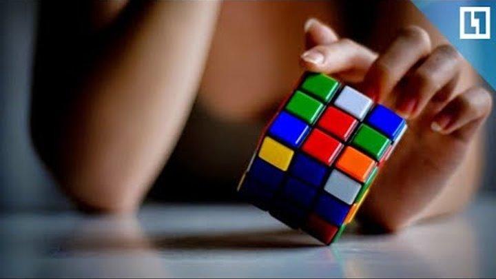 Собрать кубик Рубика одной рукой