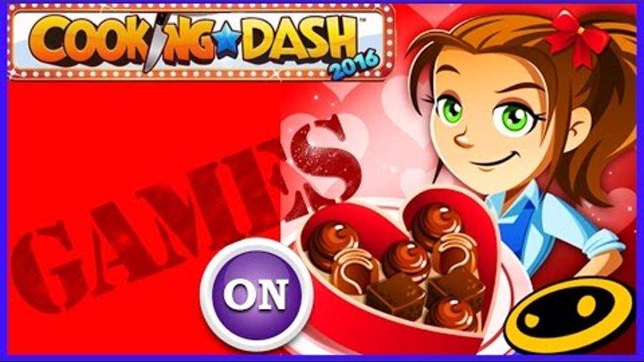Игра для детей COOKING DASH 2016 дети взрывают клиентов прохождение игры андроид мод видео