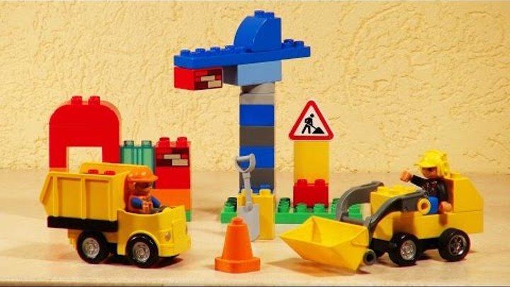Конструктор Lego Duplo. Моя первая Стройплощадка.