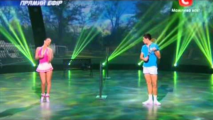 Танцуют все 6 сезон - Вова и татьяна - Танцы со звездами 13.12.2013