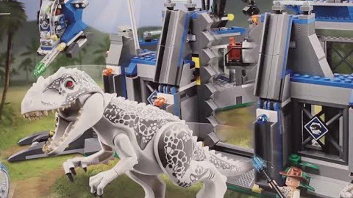 75919 Лего Прорыв ужасного ящера Мир Юрского периода 2015 год