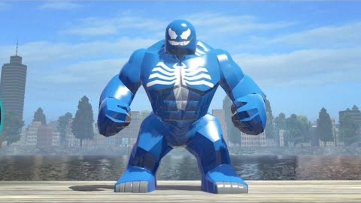 LEGO Marvel Superheroes - Blue Venom Big-Fig Gameplay