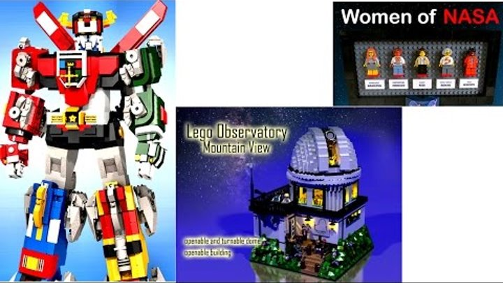 Лего Трансформеры хуже Lego Ideas Women of NASA? Невероятные постройки ЛЕГО сделаны своими руками