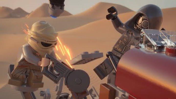 LEGO® Star Wars™ 2015 Mini Movie Ep 12 - Rey's Speeder