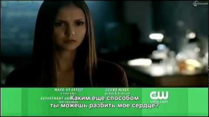 Дневники Вампира - 10 серия 4 сезон, промо (rus sub)