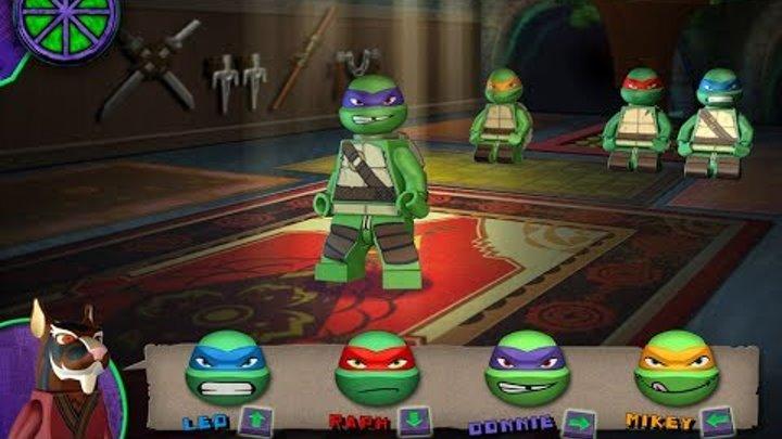 Teenage Mutant Ninja Turtles :Ninja Training Lego