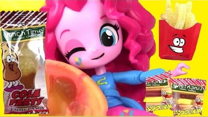 Эквестрия Герлз! Обед от Пинки Пай! Май Литл Пони Мультик. Распаковка Игрушек. Играем в Куклы