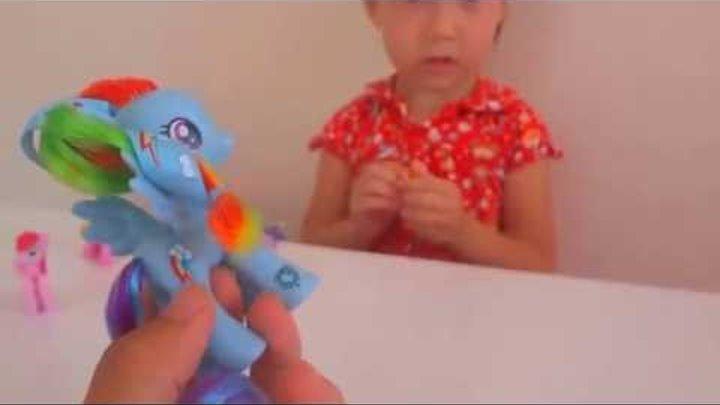 MLP My Little Pony - Rainbow Dash Май Литл Пони Радуга дэш собираем коллекцию пони Новые игрушки