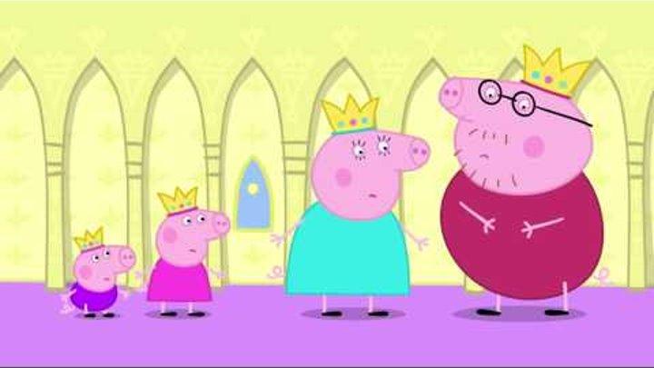 Свинка Пеппа на русском все серии подряд около 50 минут #5 Спящая принцесса Peppa Pig Russian