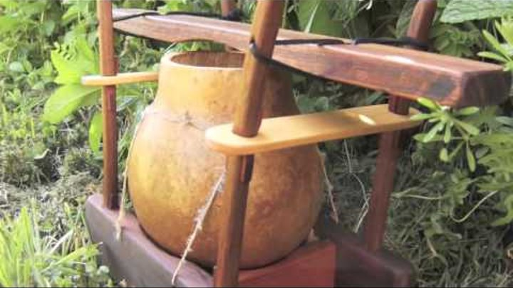 Ilimba Drum with 2 Mallets