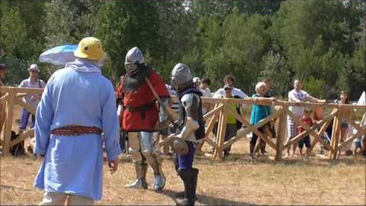 Рыцари Средневековье Фестиваль Сиверские Викинги 2016