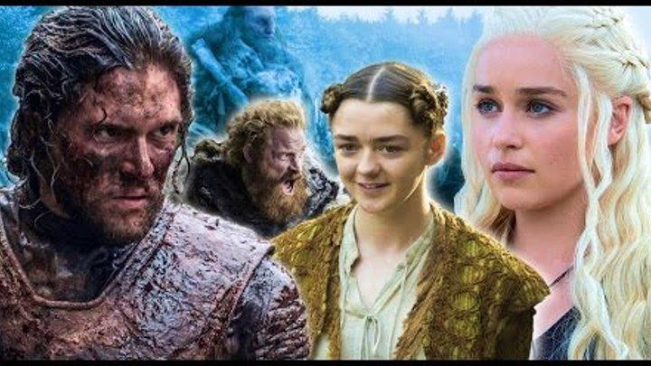 Игра престолов. Game of Thrones. Лучшее. В ожидании 7 сезона