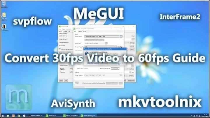 Convert 30fps Video to 60fps Guide