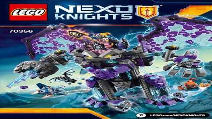 Лего Рыцари Нексо Каменный великан LEGO Nexo Knights THE STONE COLOSSUS OF ULTIMATE DESTRUCTI 70356