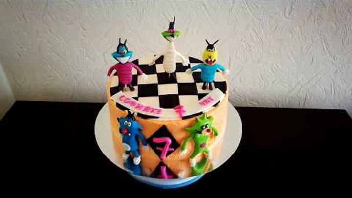 Торт Огги Та Кукарачи.