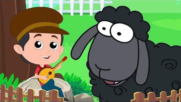 Баа баа черная овца   овцы стишки для детей   Дошкольные песни   Baa Baa Black Sheep   Baby Songs
