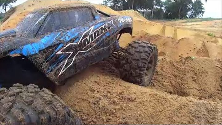 "Traxxas X-Maxx in ""Shred the Pit"""