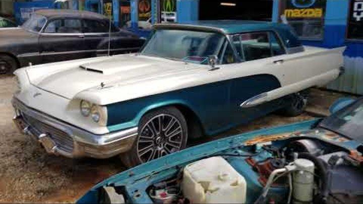 #19 VLOG Американская классика.Реставрация ретро автомобилей в мастерской моего друга.
