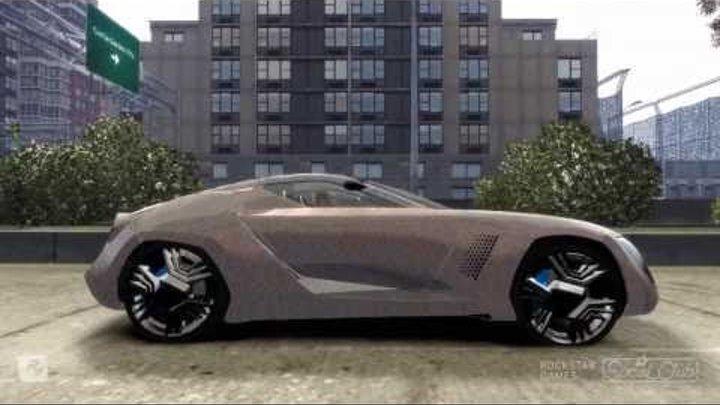 GTA 4 Car mod Bertone Mantide