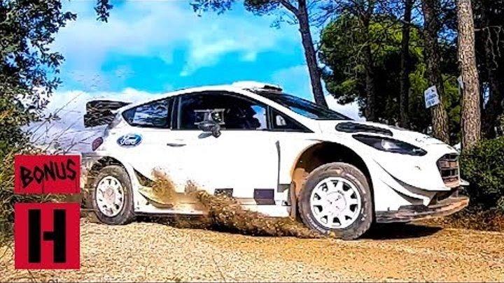 Ken Block Test Shred For WRC Spain 2018