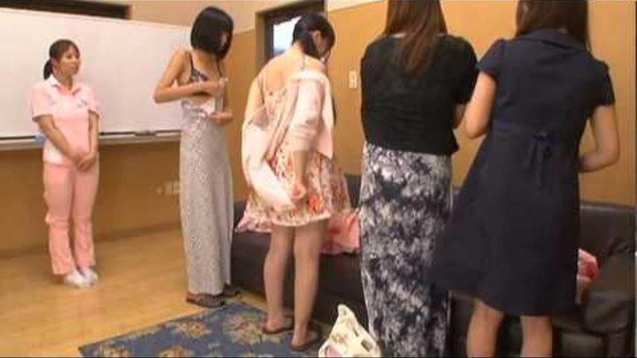 Shameless Nurse!! Naked Caregivers Uniform!!
