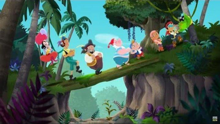 Джейк и пираты Нетландии - Джинн Крюк! / Королевское недоразумение! - Серия 15, Сезон 3