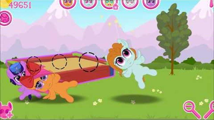 Карманная пони 3 Самый печальный день в доме Мультик игра для детей Май литл пони
