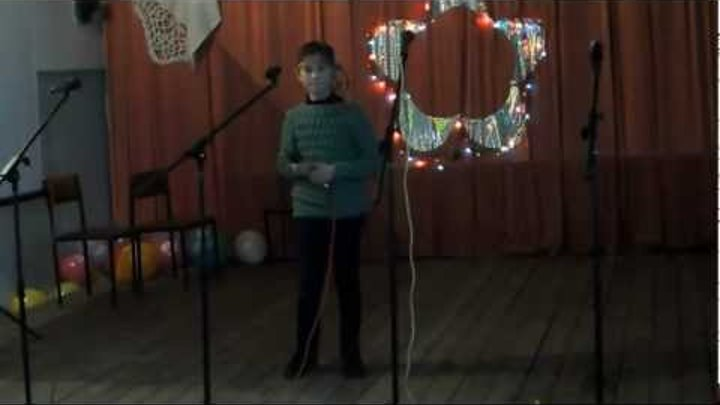 """Харламычева Анна песня """"Менк енк у сарере мер"""" 4.11.2012"""