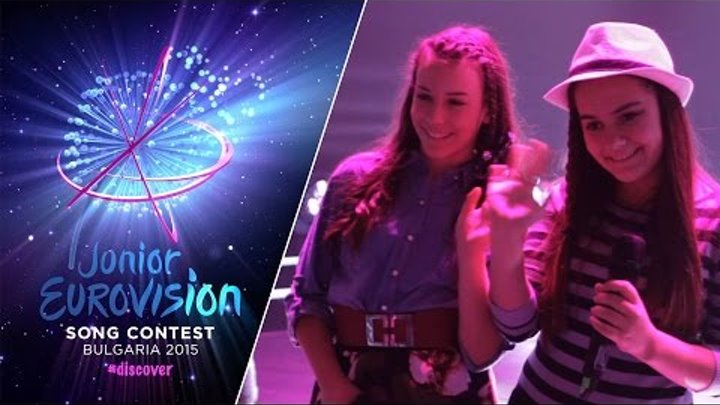 Junior Eurovision Song Contest 2015: Ivana & Magdalena (F.Y.R. Macedonia) Second Rehearsal