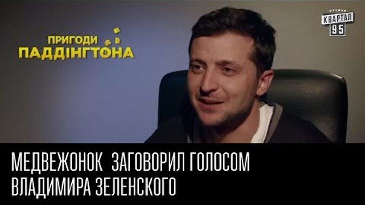 """Медвежонок из фильма """"Приключения Паддингтона"""" заговорил голосом Владимира Зеленского"""