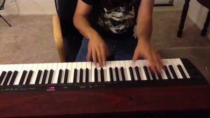 Meshuggah - Bleed (piano)