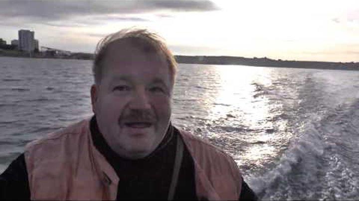 Севастополь. Рыбалка на Черном море с лодки. Луфарь, селёдка.