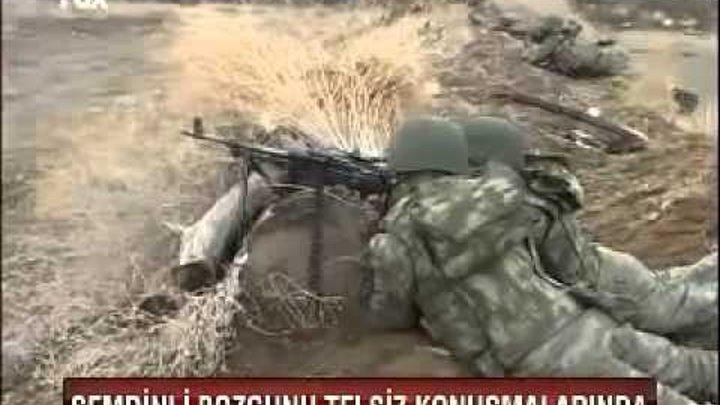 Baskına gelen PKK'lılar bozguna uğradı yüzler'çe geberen pkk'lı ve mutlu son nokta.