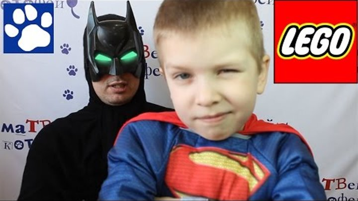 ЛЕГО Бэтмен против Супермена 76044. Распаковка ЛЕГО Супергерои   LEGO Batman vs. Superman