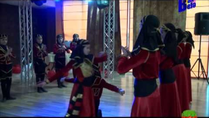 """Dikiy Kavkaz Ensemble-""""Acar"""" rəqsi. Dünya Tv-2015"""