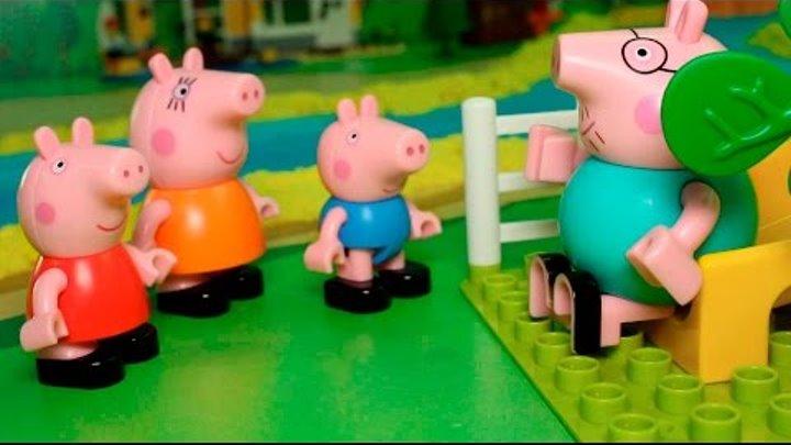 Свинка Пеппа новые серии - Одни дома. Мультики для детей Peppa Pig Мультфильмы. Видео Для детей